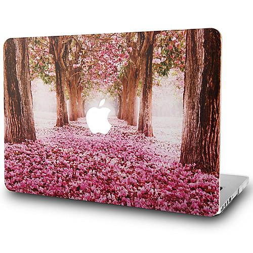 MacBook Кейс дерево / Цветы Поликарбонат для Новый MacBook Pro 15 / Новый MacBook Pro 13 / MacBook Pro, 15 дюймов аксессуар док станция henge docks hd01va17mbp для macbook pro 17
