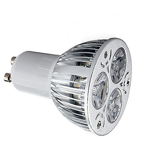 1шт 9W 600lm GU10 Точечное LED освещение 3 Светодиодные бусины Высокомощный LED Декоративная Тёплый белый Холодный белый 85-265V