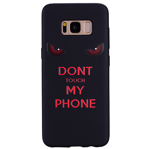 Case For Samsung Galaxy Pattern Back Cover Word / Phrase Soft Silicone for S8 Plus / S8 / S7 edge