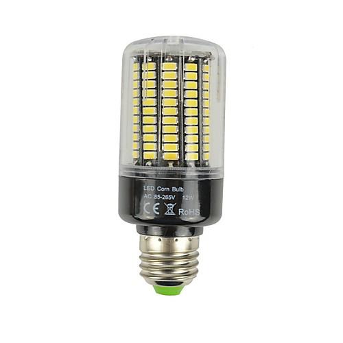 1шт 12W 1180lm E27 LED лампы типа Корн 132 Светодиодные бусины SMD 5736 Декоративная Светодиодная лампа Тёплый белый Холодный белый цена