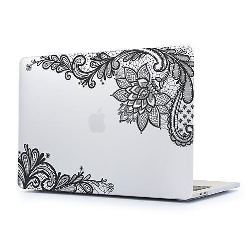 MacBook Кейс Кружева Печать Поликарбонат для Новый MacBook Pro 15 / Новый MacBook Pro 13 / MacBook Pro, 15 дюймов