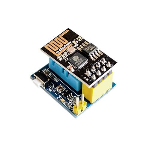 esp8266 esp-01 esp-01s dht11 модуль влажности с высокой влажностью влажности содержит беспроводной модуль esp 07 esp8266 uart serial to wifi wireless module