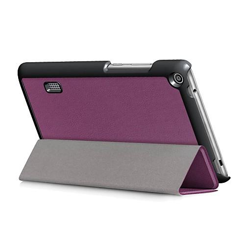 Кейс для Назначение Huawei MediaPad T3 7.0 Чехол Однотонный Твердый Кожа PU для Huawei MediaPad T3 7.0