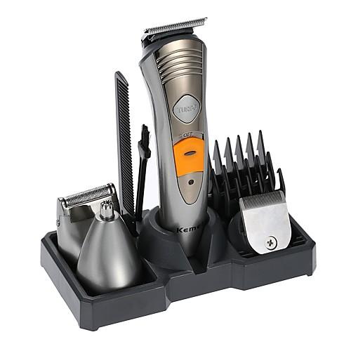 kemei км-580a электробритва бритва 7 в 1 бритва машина нос уха волос триммер электрический клипер перезаряжаемый afeitadora мужской личный