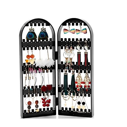 текстильный пластик Овал Главная организация, 1шт Коробки для бижутерии Органайзеры для украшений органайзеры и сумки