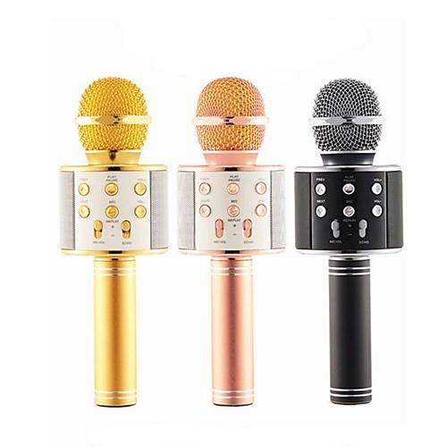 Проводное Bluetooth Микрофон Other Конденсаторный микрофон Ручной микрофон Назначение Микрофон для караоке фото