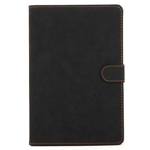 Кейс для Назначение Apple iPad Mini 3/2/1 со стендом Флип Авто Режим сна / Пробуждение Чехол Сплошной цвет Твердый Настоящая кожа для