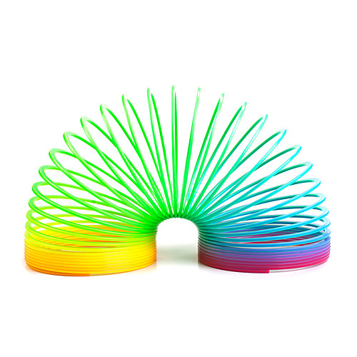 Игрушки-радуги Игрушка пружинка-радуга Обучающая игрушка Устройства для снятия стресса Экологичные Классика Детские Подарок 1pcs sima land антистрессовая игрушка пружинка радуга мышка