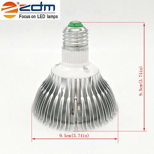 7 Вт. 650-750 lm E26/E27 Точечное LED освещение PAR30 7 светодиоды Высокомощный LED Тёплый белый AC 85-265V от MiniInTheBox.com INT