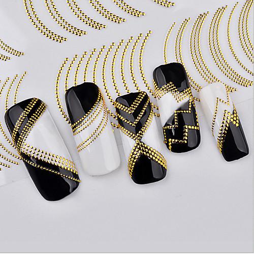 1 pcs 3D наклейки на ногти маникюр Маникюр педикюр Мода Повседневные / 3D-стикеры для ногтей