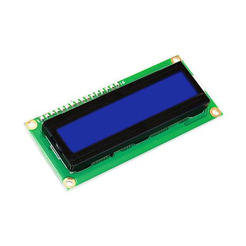 keyestudio 16x2 1602 i2c / twi lcd модуль отображения для arduino uno r3 mega 2560 белый в синем seeed 1602 lcd key shield expansion board w power supply for arduino uno r3 mega 2560 r3 black
