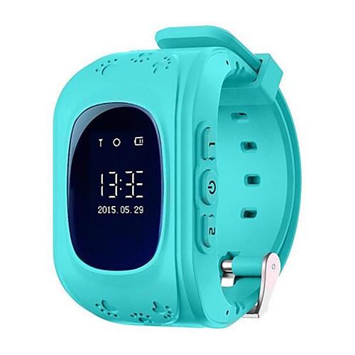 Q50-G Kids Smartwatch Android Bluetooth GPS Multi-functional Pedometer Call Reminder Activity Tracker Sleep Tracker Alarm Clock / Gravity Sensor / 72-100 / MTK6261