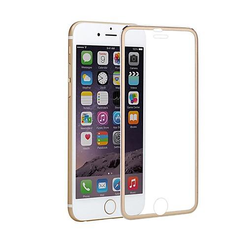 Защитная плёнка для экрана для Apple iPhone 8 Закаленное стекло / Титановый сплав 1 ед. Защитная пленка Зеркальная поверхность фото