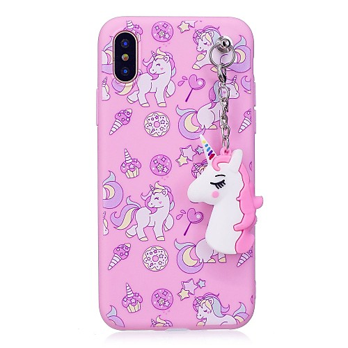 Case For Apple iPhone XR XS XS Max IMD / Pattern / DIY Back Cover Unicorn Soft TPU for iPhone X 8 8 Plus 7 7plus 6s 6s Plus SE 5 5S