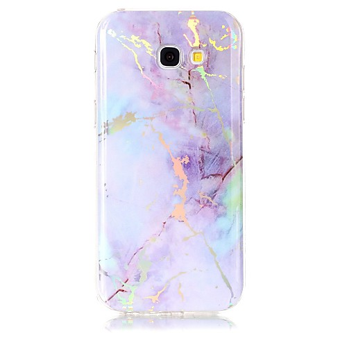 Case For Samsung Galaxy A5(2017) / A3(2017) IMD / Pattern Back Cover Marble Soft TPU for A3(2017) / A5(2017)