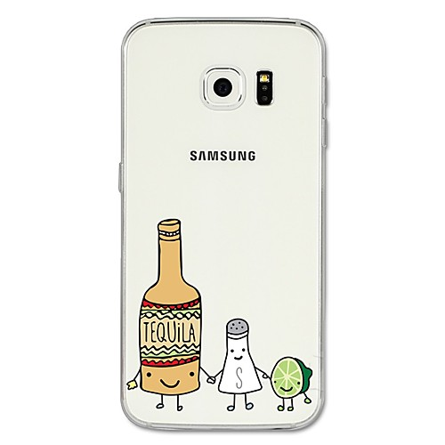 Case For Samsung Galaxy S8 Plus / S8 Pattern Back Cover Cartoon / Fruit Soft TPU for S8 Plus / S8 / S7 edge