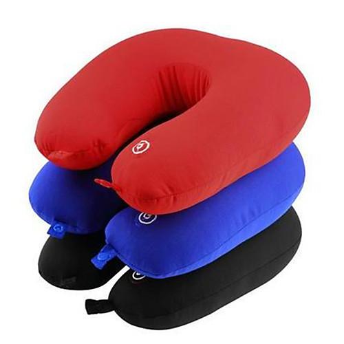 1set батарея вибрируя электрическая подушка перемещение шея плечо расслабляет massager цвет