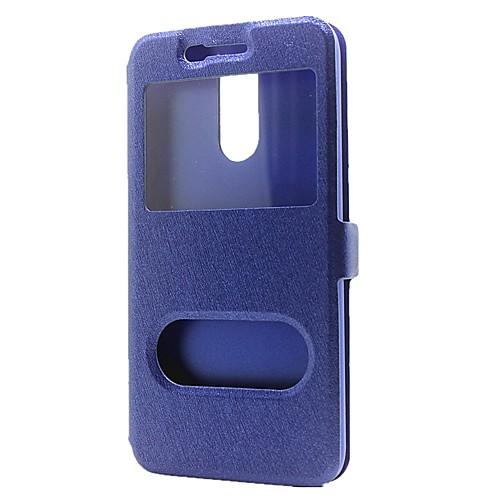 Кейс для Назначение LG G3 LG K8 LG LG K10 LG K7 LG G5 LG G4 K8 (2017) K10 (2017) Кошелек со стендом с окошком Флип Чехол Сплошной цвет кейс для назначение lg k8 lg lg k5 lg k4 lg k10 lg k7 lg g5 lg g4 бумажник для карт кошелек со стендом флип чехол сплошной цвет твердый