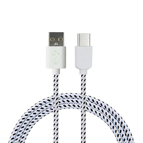 Cwxuan USB 3.1 Type C Кабель-переходник, USB 3.1 Type C to USB 2.0 Кабель-переходник Male - Male 1.8M (6 футов) 480 Мб/сек. usb 2 0 sata ii кабель переходник usb 2 0 sata ii to sata ii кабель переходник male female 480 мб сек