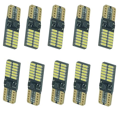 10 шт. Автомобиль Лампы 5W SMD 4014 8 Лампа поворотного сигнала For Универсальный Все года цена