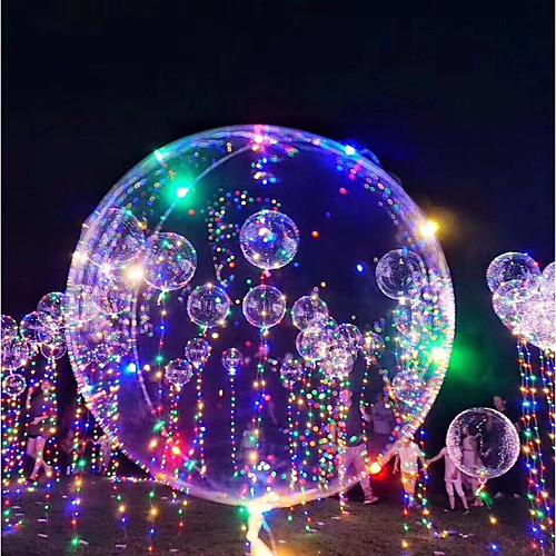 3M LED освещение Воздушные шары LED воздушные шары Праздник Романтика День рождения Осветительные приборы Наполнители Сияние в темноте в казани пенопластовые шары для поделок
