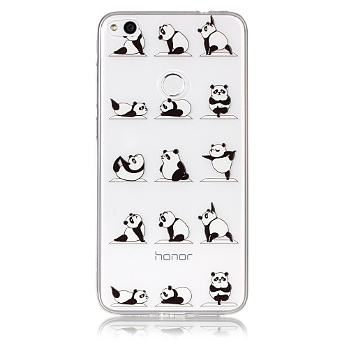 Кейс для Назначение Huawei P9 Lite Huawei Huawei P8 Lite P8 Lite (2017) P10 Lite Ультратонкий Прозрачный С узором Рельефный Кейс на смартфоны huawei y5 2017 grey
