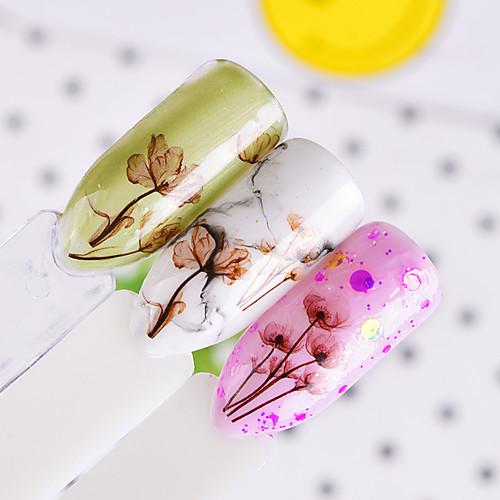 1 pcs Мода Наклейки / 3D-стикеры для ногтей Повседневные наклейки для ногтей 5 3d xf1241