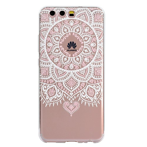 Case For Huawei P10 Lite / P8 Lite (2017) Pattern Back Cover Lace Printing Soft TPU for P10 Lite / P10 / P8 Lite (2017)