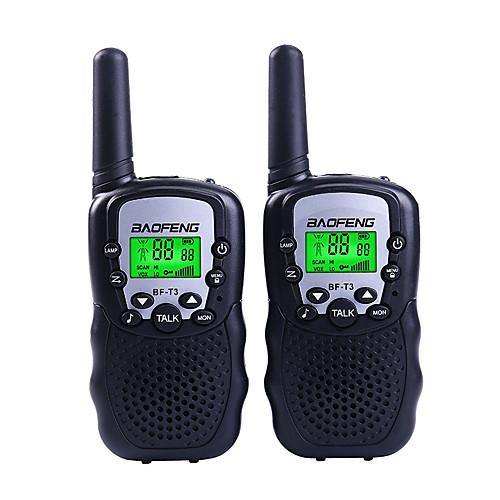 Фото BAOFENG T3 Радиотелефон Для ношения в руке 1,5 - 3 км 1,5 - 3 км Walkie Talkie Двухстороннее радио радиотелефон