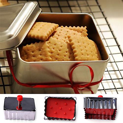 Формы для нарезки печенья Квадратный конфеты Для Cookie Печенье Нержавеющая сталь