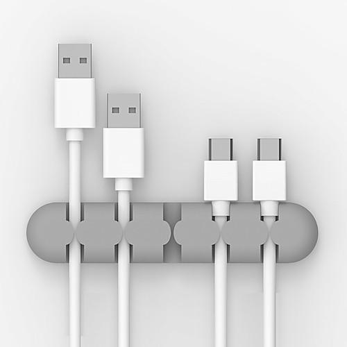 orico cbs5 кабель намотчик наушник кабель организатор провод хранение силиконовый зарядный кабель держатель зажимы