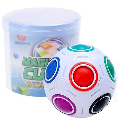 Кубик рубик Разноцветные магические шары Спидкуб Кубики-головоломки Разноцветные магические шары головоломка Куб Образование Футбол магические послания богинь 44 карты инструкция