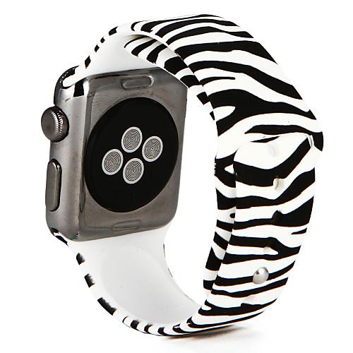 Ремешок для часов для Apple Watch Series 4/3/2/1 Apple Спортивный ремешок силиконовый Повязка на запястье фото
