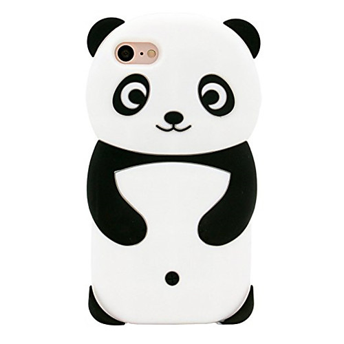 Case For iPhone XR XS XS Max Pattern Back Cover Panda Soft Silicone for iPhone X 8 8 Plus 7 7plus 6s 6s Plus SE 5 5S