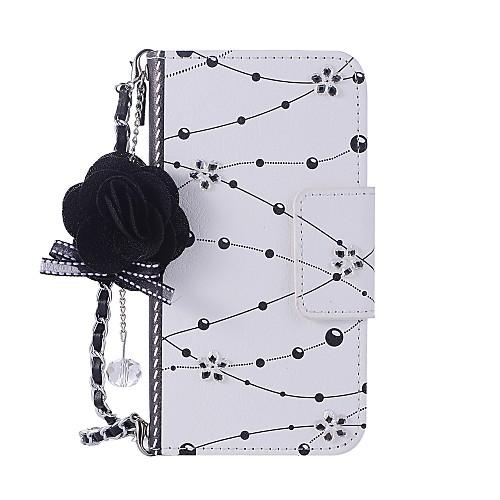 Кейс для Назначение Apple iPhone X iPhone 8 Бумажник для карт Кошелек со стендом Флип Магнитный С узором Своими руками Чехол Цветы Твердый мебель своими руками cd с видеокурсом