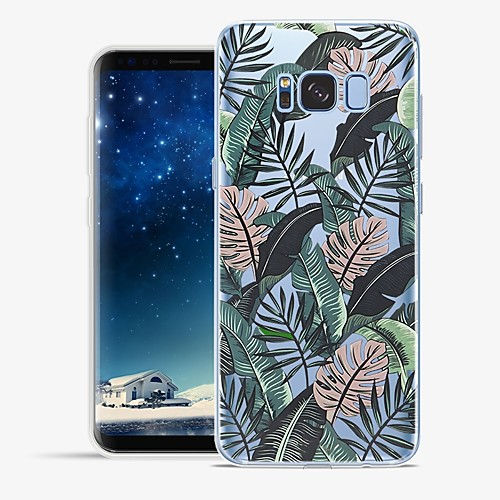 Case For Samsung Galaxy S8 Plus / S8 Pattern Back Cover Scenery Soft TPU for S8 Plus / S8 / S7 edge