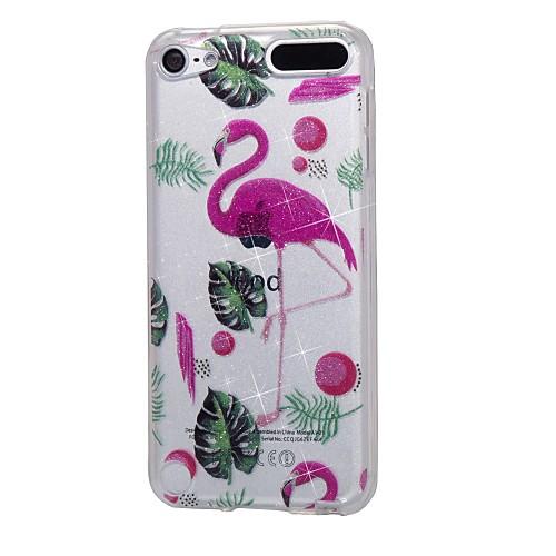 чехол для Apple ipod touch5 / 6 чехол для случая с высоким проникающим порошком imd фламинго мягкий чехол для телефона tpu стоимость