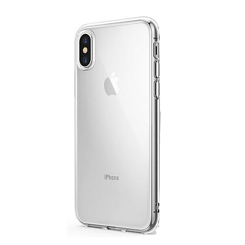 Кейс для Назначение Apple iPhone X iPhone 8 iPhone 8 Plus iPhone 6 iPhone 6 Plus Ультратонкий Прозрачный Кейс на заднюю панель Сплошной