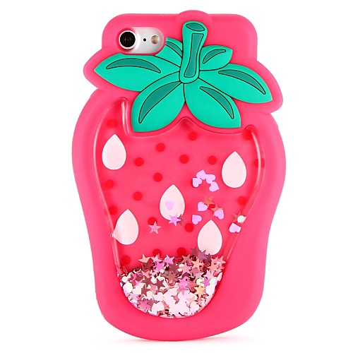 Case For Apple iPhone X / iPhone 8 / iPhone 8 Plus DIY Back Cover Food / 3D Cartoon / Fruit Soft Silicone for iPhone X / iPhone 8 Plus / iPhone 8