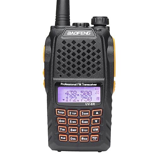 BAOFENG Радиотелефон Для ношения в руке 5 - 10 км 5 - 10 км Walkie Talkie Двухстороннее радио радиотелефон