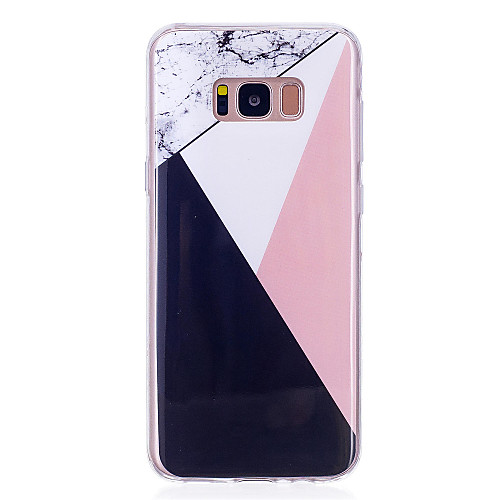 Case For Samsung Galaxy S8 Plus / S8 IMD Back Cover Marble Soft TPU for S8 Plus / S8 / S7 edge