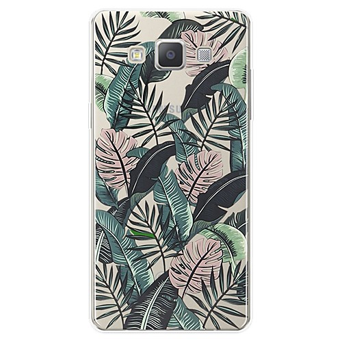Case For Samsung Galaxy A7(2017) Pattern Back Cover Scenery Soft TPU for A3(2017) / A5(2017) / A7(2017)