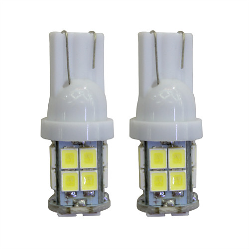 LORCOO 2pcs T10 Автомобиль Лампы 2W 40lm Светодиодная лампа Внутреннее освещение лампы освещение