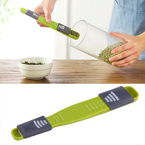 кухня двойной конец восемь лотков ложки пластиковые грамм мерные ложки чашки измерительные инструменты