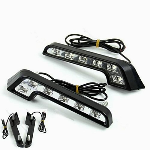 2pcs Light Bulbs 6W High Performance LED 6 Daytime Running Light For Mercedes-Benz C200 / C180 / Classic Universal