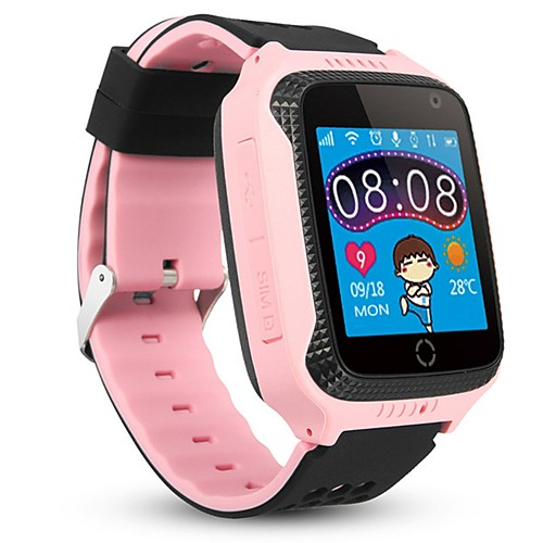 M05 Kids Kids' Watches Android iOS 2G Hands-Free Calls Video Camera Distance Tracking Information Call Reminder Activity Tracker Sleep Tracker Find My Device Alarm Clock / 1 MP / Gravity Sensor