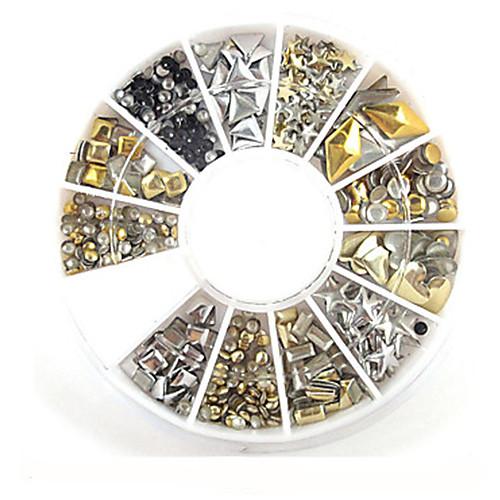1 pcs Украшения для ногтей Дизайн ногтей металлический / Мода Повседневные