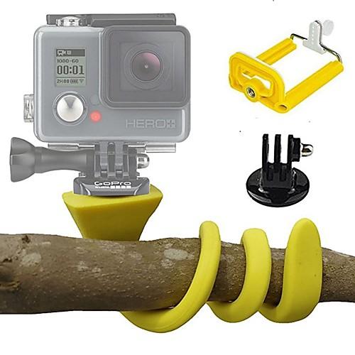 Экшн камера / Спортивная камера Набор Гибкие крепления На открытом воздухе Регулируемая длина Кейс Многофункциональный Складной Для Экшн