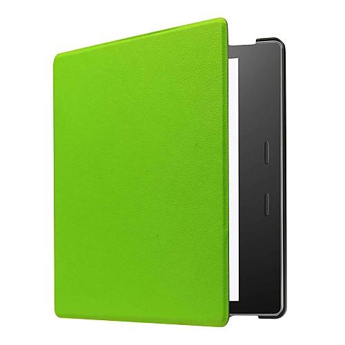 Кейс для Назначение Amazon Kindle Oasis 2 (2-е поколение, выпуск 2017 года) Чехол Однотонный Твердый Кожа PU для Kindle Oasis 2(2nd zonesun 2nd generation 100