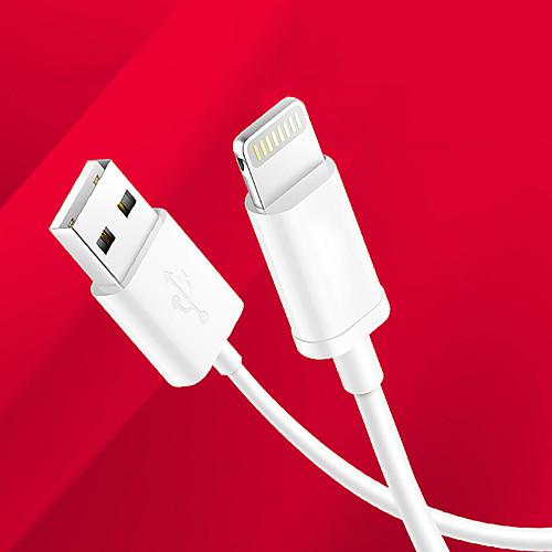 Подсветка Кабель / Кабель для зарядки / Для передачи данных Нормальная Кабели / Кабель iPad / Apple iPad / Apple для 100 cm Назначение ТПУ кабель для мобильных телефонов 2 1 usb 8pin iphone 5 6 ipad remax rm jg2in1